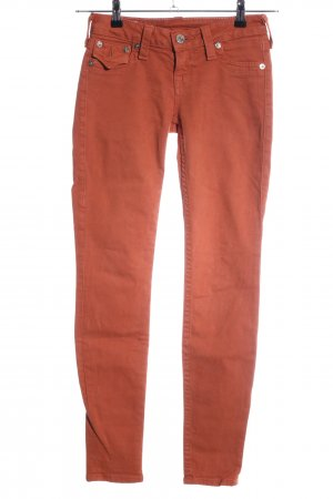 True Religion Skinny Jeans hellorange Casual-Look