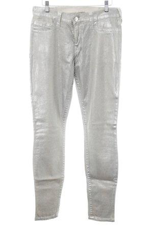 True Religion Skinny Jeans goldfarben Elegant