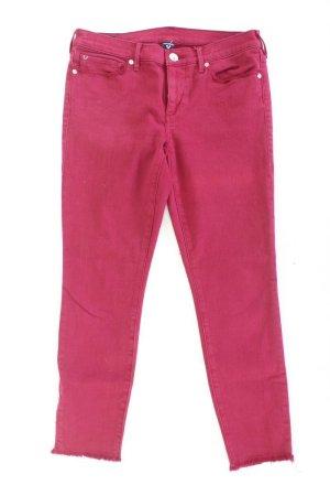 True Religion Skinny Jeans Größe W30 rot aus Baumwolle