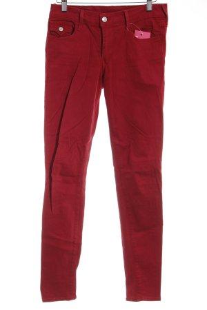 True Religion Skinny Jeans hellrot Casual-Look