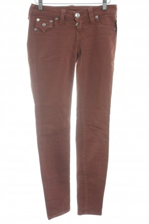 True Religion Skinny Jeans rostrot Casual-Look