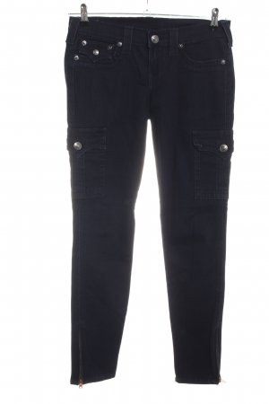 True Religion Skinny Jeans schwarz Casual-Look