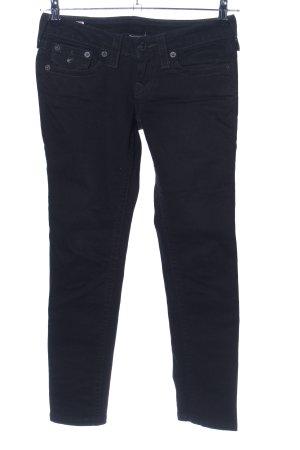 """True Religion Slim Jeans """"Julie"""" schwarz"""