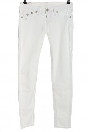 """True Religion Slim Jeans """"Misty"""" weiß"""