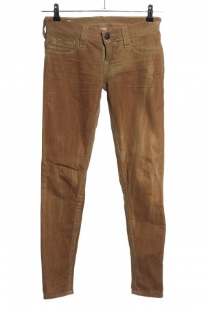 True Religion Slim Jeans brown casual look