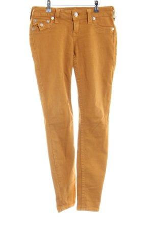True Religion Slim Jeans hellorange Casual-Look