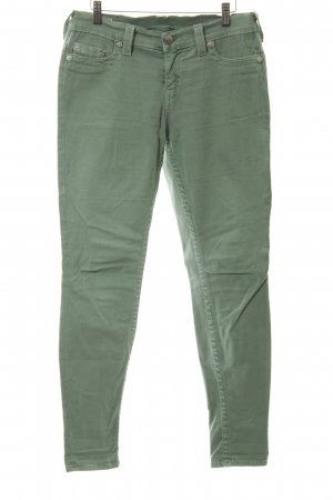 True Religion Slim jeans khaki casual uitstraling