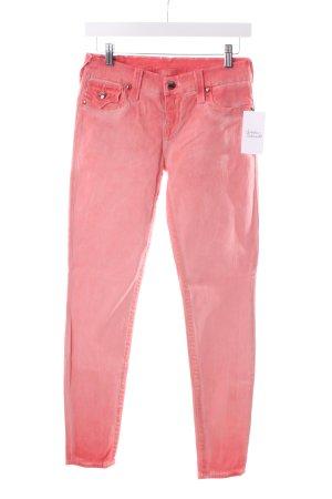 True Religion Slim Jeans apricot Washed-Optik