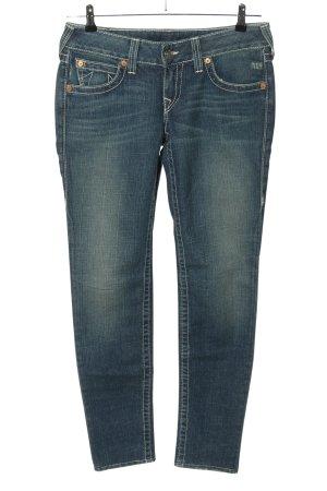 True Religion Jeans slim bleu style décontracté