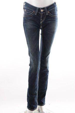 True Religion Slim Jeans dunkelblau