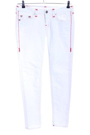 True Religion Jeans slim blanc style décontracté