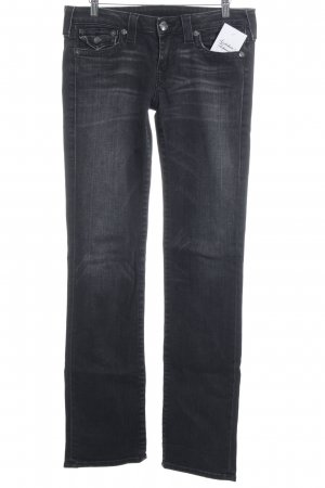 True Religion Slim Jeans grau-taupe Casual-Look