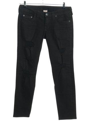 """True Religion Slim Jeans """"Stella"""" schwarz"""