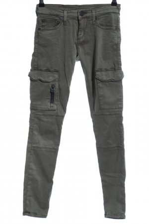 True Religion Stoffhose khaki Casual-Look