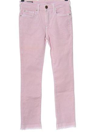 True Religion Jeansy z prostymi nogawkami różowy W stylu casual