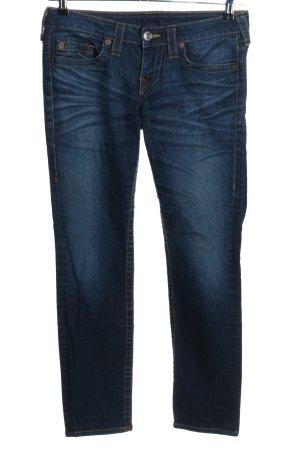 True Religion Jeans coupe-droite bleu style décontracté