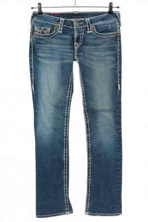 "True Religion Jeans coupe-droite ""Johnny Super T"" bleu"