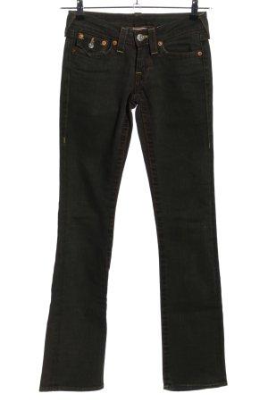 "True Religion Straight-Leg Jeans ""Billy"" schwarz"