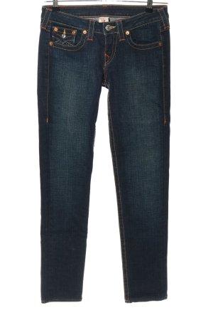 "True Religion Straight-Leg Jeans ""Julie"" blau"