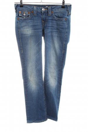 "True Religion Straight-Leg Jeans ""Billy"" blau"