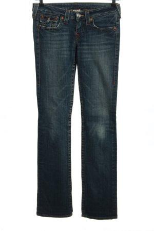 True Religion Jeansy o kroju boot cut niebieski W stylu casual