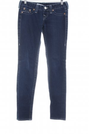 True Religion Straight-Leg Jeans blau Casual-Look