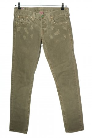 True Religion Straight-Leg Jeans khaki Casual-Look