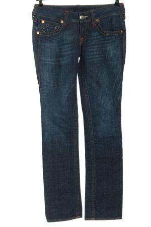 True Religion Straight Leg Jeans blue casual look