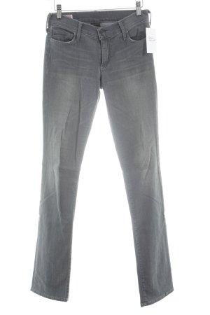 True Religion Straight-Leg Jeans grau schlichter Stil