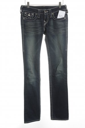 True Religion Straight-Leg Jeans mehrfarbig Street-Fashion-Look