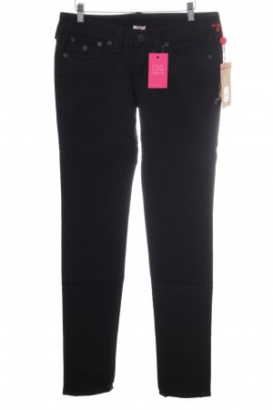 True Religion Straight-Leg Jeans schwarz