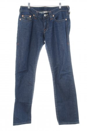 "True Religion Straight-Leg Jeans ""Stevie"" dunkelblau"