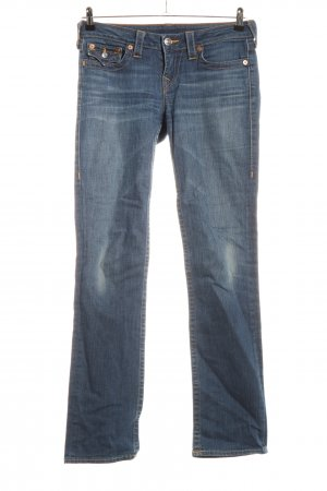 "True Religion Straight-Leg Jeans ""Wendy"" blau"
