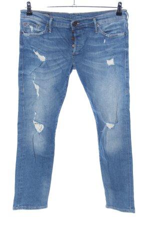 "True Religion Stretch jeans ""LIV"" blauw"