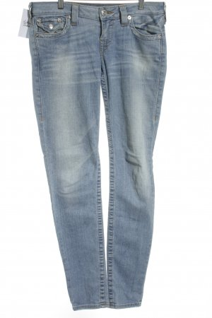 True Religion Stretch Jeans himmelblau Jeans-Optik