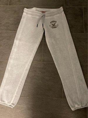 True Religion Pantalón deportivo gris claro