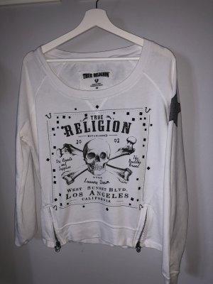 True Religion Sweater Weiß