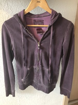 True Religion Sweatjacke lila