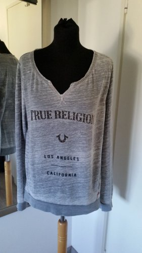 True Religion Sweatshirt in Grau Gr.L