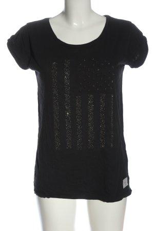 True Religion Camiseta negro look casual