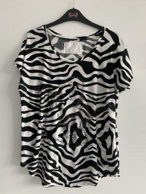 True Religion T-Shirt black-white