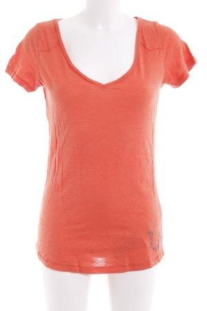 True Religion T-Shirt orange Casual-Look