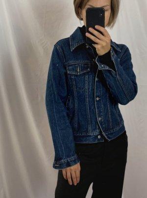 True Vintage 100% Baumwolle Jeans-Jacke