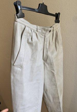 Vintage Pantalón de cuero multicolor Cuero