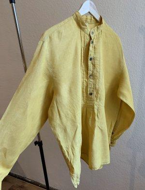 True vintage 100% Leinen Hemd-Bluse