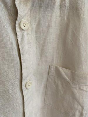 Vintage Linen Blouse multicolored linen