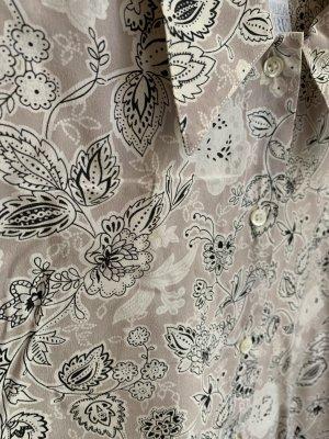 Vintage Blusa in seta multicolore Seta