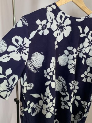 True Vintage 100% Viskose Shirt-Bluse