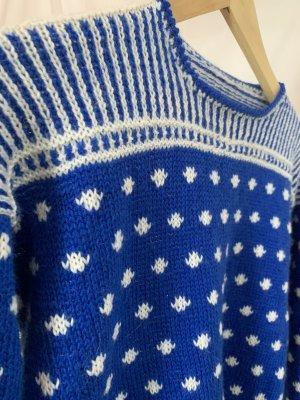 Vintage Wollen trui veelkleurig Wol