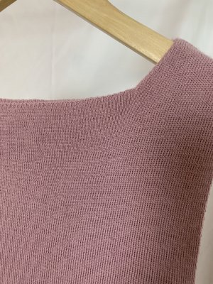Vintage Knitted Top multicolored wool
